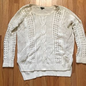 Cable knit express sweater